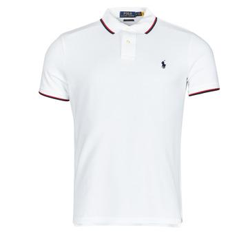 Vêtements Homme Polos manches courtes Chemise Cintree Slim Fit En CALMIRA Blanc