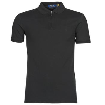 Vêtements Homme Polos manches courtes Polo Ralph Lauren BATTYNA Noir