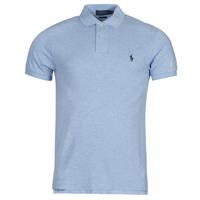 Vêtements Homme Polos manches courtes Chemise Cintree Slim Fit En DOLINAR Bleu