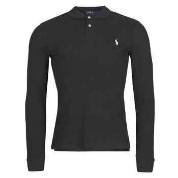 Vêtements Homme Polos manches longues Polo Ralph Lauren MOLINA Noir