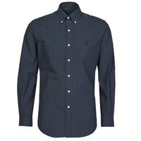 Vêtements Homme Chemises manches longues Polo Ralph Lauren RENIMA Vert / Bleu