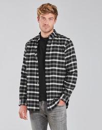 Vêtements Homme Chemises manches longues Polo Ralph Lauren PERINE Noir