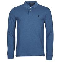 Vêtements Homme Polos manches longues Polo Ralph Lauren KETINA Bleu Royal