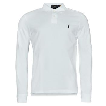 Vêtements Homme Polos manches longues Polo Ralph Lauren GIULIA Blanc