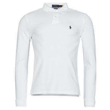 Vêtements Homme Polos manches longues Polo Ralph Lauren TREKINA Blanc