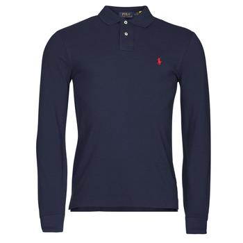 Vêtements Homme Polos manches longues Polo Ralph Lauren TREKINA Bleu