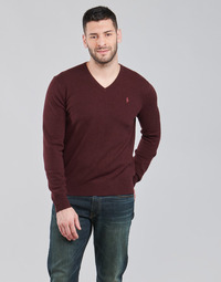 Vêtements Homme Pulls Polo Ralph Lauren SOLIMMA Bordeaux