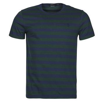 Vêtements Homme T-shirts manches courtes Polo Ralph Lauren POLINE Marine / Vert