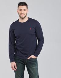 Vêtements Homme T-shirts manches longues Polo Ralph Lauren DRENNI Marine