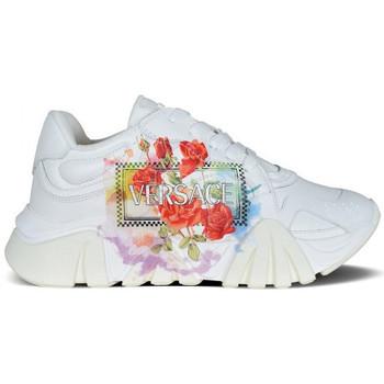 Chaussures Enfant Baskets basses Versace  Blanc