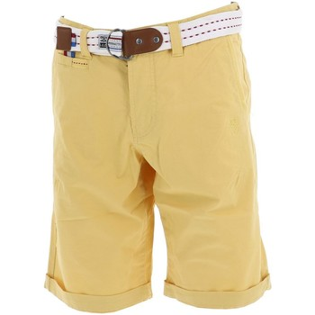 Vêtements Homme Shorts / Bermudas Legender's Garmin vanille mint h short Jaune