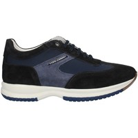 Chaussures Homme Baskets basses Gino Tagli 099CPE21 haut Homme Bleu