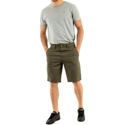 Vêtements Homme Shorts / Bermudas Timberland straight chino a58 grape leaf vert