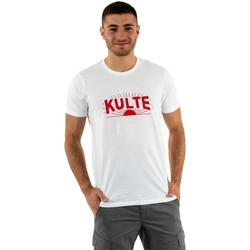 Vêtements Homme T-shirts manches courtes Kulte sunred white blanc