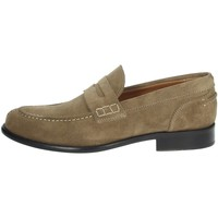 Chaussures Homme Mocassins Gino Tagli 652 Marron Taupe