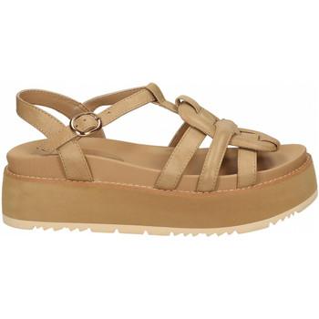 Chaussures Femme Sandales et Nu-pieds Rahya Grey COW LEA beige