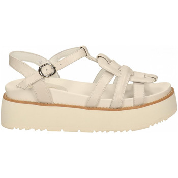 Chaussures Femme Sandales et Nu-pieds Rahya Grey COW LEA off-white