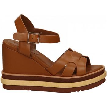 Chaussures Femme Sandales et Nu-pieds Rahya Grey COW LEA cuoio