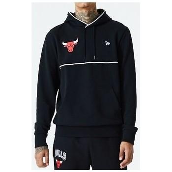 Vêtements Homme Sweats New-Era - Sweat-shirt à capuche Chicago Bulls - Piping Hoody Noir