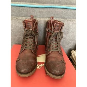 Chaussures Femme Boots Mustang KWANITA boots Bordeaux