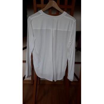 Vêtements Femme Chemises manches longues Esprit Chemise blanche Blanc