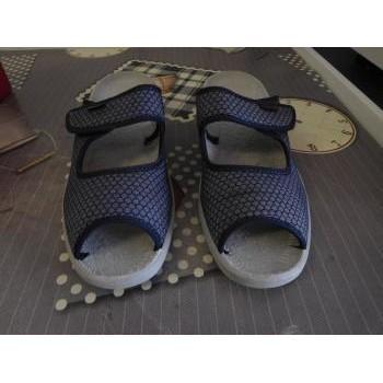 Chaussures Femme Sandales et Nu-pieds Fargeot Sandales nu-pieds Bleu