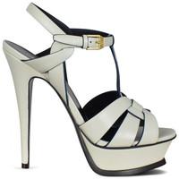 Chaussures Fille Sandales et Nu-pieds Saint Laurent  Blanc