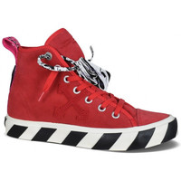 Chaussures Enfant Baskets montantes Off-White  Rouge