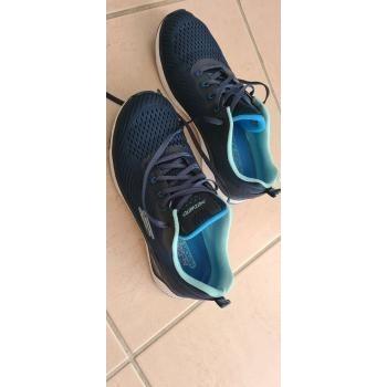 Chaussures Femme Fitness / Training Skechers Skechers- SOLAR FUSE COSMIC VIEW -Marine Bleu