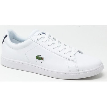 Chaussures Baskets basses Lacoste CARNABY EVO BLC Blanc