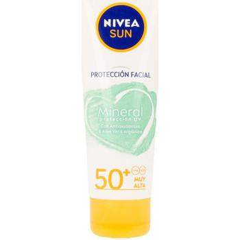 Beauté Protections solaires Nivea Sun Facial Mineral Protección Uv Spf50+