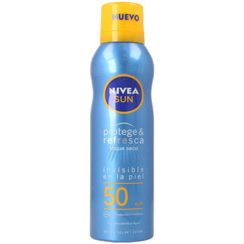 Beauté Protections solaires Nivea Sun Protege&refresca Spray Spf50