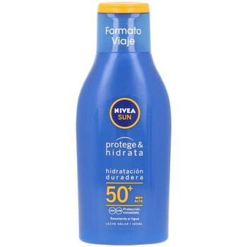 Beauté Protections solaires Nivea Sun Protege&hidrata Leche Spf50