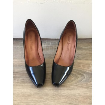 Chaussures Femme Escarpins Acne Jeans Escarpins glamour Noir