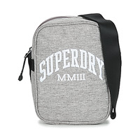 Sacs Pochettes / Sacoches Superdry SIDE BAG Gris