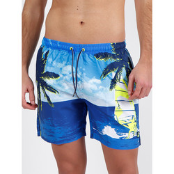 Vêtements Homme Maillots / Shorts de bain Admas For Men Short bain Destination Lois bleu Admas Bleu