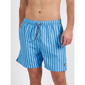 Vêtements Homme Maillots / Shorts de bain Admas For Men Short bain Stripes Antonio Miro bleu Admas Bleu