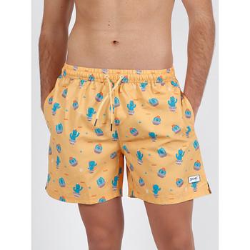 Vêtements Homme Maillots / Shorts de bain Admas For Men Short bain Cactus Mr Wonderful orange Admas Orange