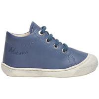 Chaussures Enfant Chaussons bébés Naturino COCOON-petites chaussures premiers pas en cuir nappa bleu