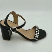 Chaussures Femme Sandales et Nu-pieds Fiorina 196540 SANDALE TALON CARRÉ Noir