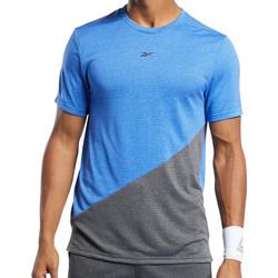 Vêtements Homme T-shirts manches courtes Reebok Sport FK6225 Bleu