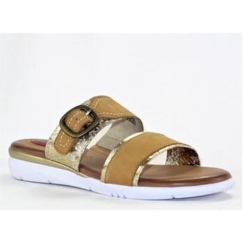 Chaussures Femme Mules Jana JANA4245 COGNAC ET OR