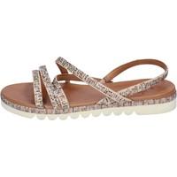 Chaussures Femme Sandales et Nu-pieds Femme Plus BJ888 Beige