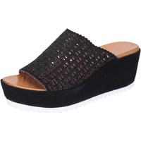 Chaussures Femme Mules Femme Plus BJ890 Noir