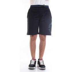 Vêtements Homme Shorts / Bermudas Aeronautica Militare 211BE109F419 Bermudes homme Bleu