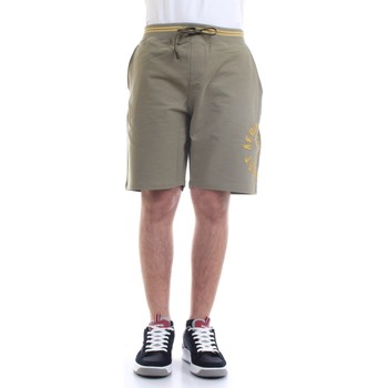 Vêtements Homme Shorts / Bermudas Aeronautica Militare 211BE109F419 vert