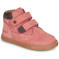 Chaussures Fille Boots Kickers TACKEASY Rose