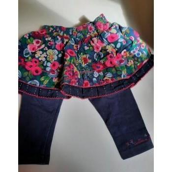 Vêtements Fille Jupes Catimini Jupe legging Multicolore