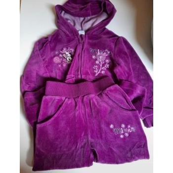 Vêtements Fille Ensembles enfant Disney Ensembles velours Violet