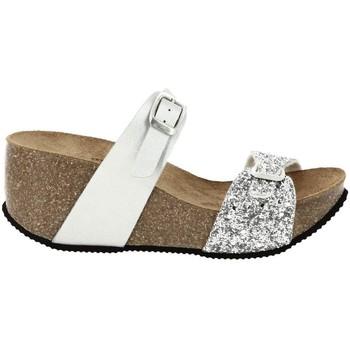 Chaussures Femme Mules La Maison De L'espadrille 3550 ARGENTE